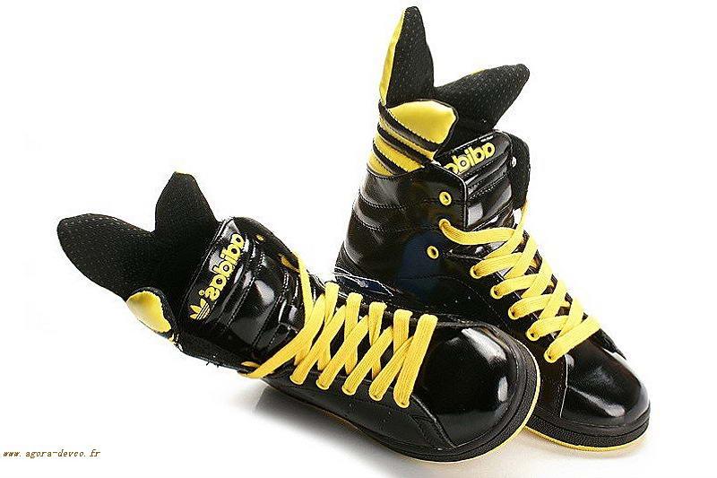 afd3a868842a Noir Iwobwwf Jaune Smks Scott Chaussure Top Homme Jeremy High Adidas  CRtnx4wxq