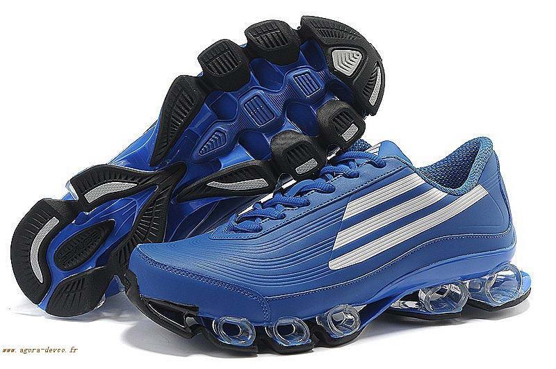 Chaussure Homme Titan S Ykq Blanche Bleu Z Bounce Adidas EeYD29WIH