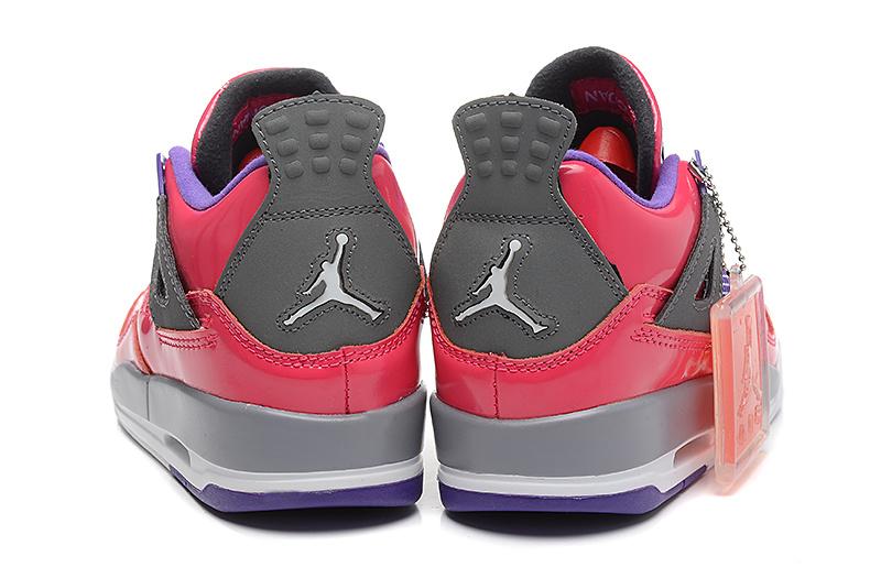 online retailer 29852 c3f55 ... shop nike air jordan 4femme air jodan 4 rose et violet 2 8ojixbh dae3e  de94c