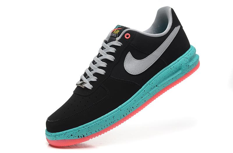 Verte Air nike One Force Cher Et Pas Noir Chaussure Nike 1 HYe2DWE9I
