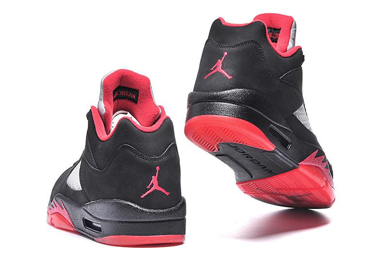 chaussures de séparation c7849 2e07c czech air jordan 5 noir rouge dd086 be0ec