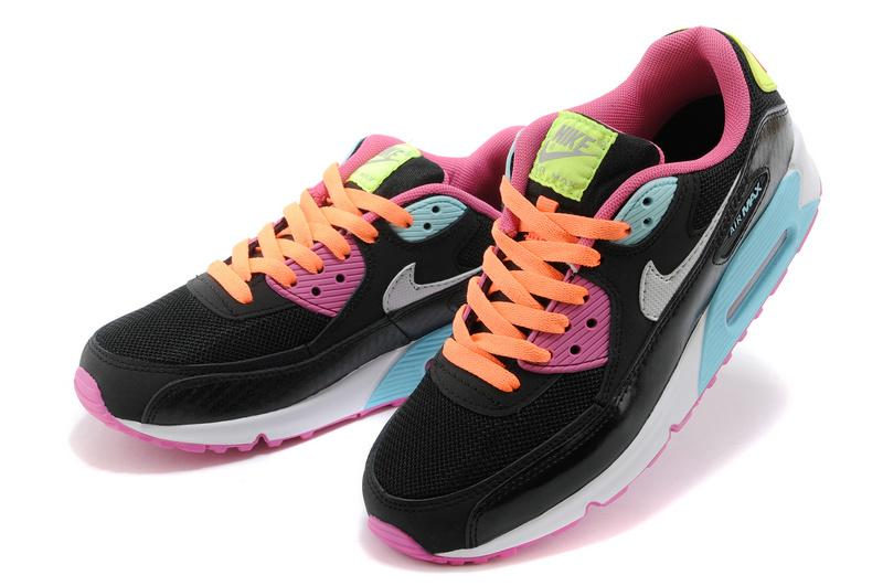vente chaude en ligne 0dbe5 cf827 chaussure nike air max femme,nike air max 90 rose et noir ...