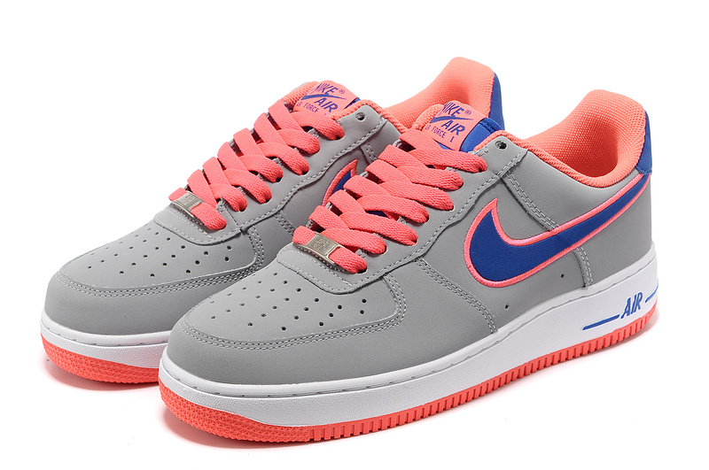 pas mal 95b83 cee86 air force one suede grise,nike air force 1 gris et rose ...