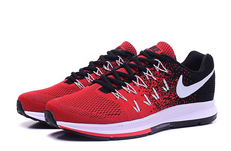 Homme Zoom 33 Noir Basket Pegasus Nike Blanche Et Rouge Solde air RqfqIwaxE7
